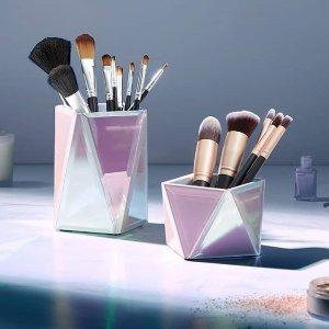 独家9.5折,£18收封面化妆筒BEAUTIFY 美妆工具热卖,收ins风 镜子 化妆刷 首饰盒