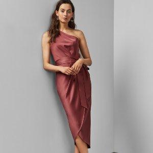 5折起 封面同款连衣裙€130Ted Baker 英式优雅美裙专区 通勤必备超显气质