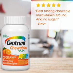 Centrum Adult (100 Count) Multivitamin Chewable Tablet, Vitamin D3