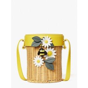 Kate Spade满$400享7折小蜜蜂编织包