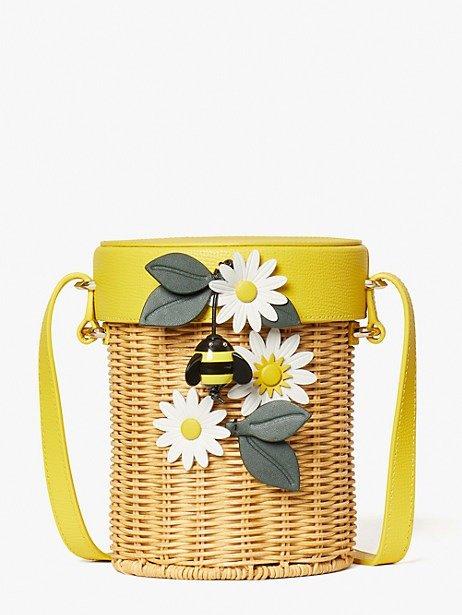 小蜜蜂编织包