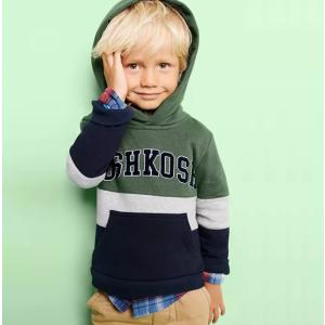 全场包邮 Logo 系列卫衣、T恤等$6.6起黑五价:OshKosh BGosh 全场低至5折+满$50享7.5折