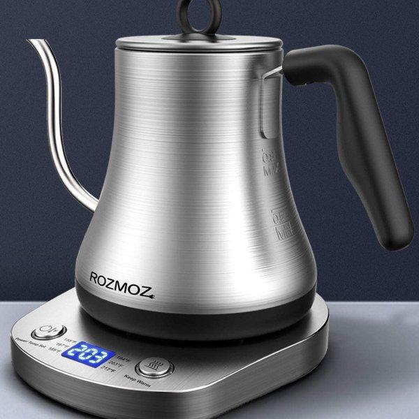 Rozmoz 不锈钢长颈控温煮茶壶