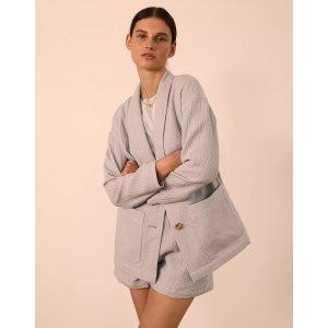 Madewell纯棉柔软西装外套