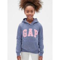 Gap 女童Logo连帽卫衣