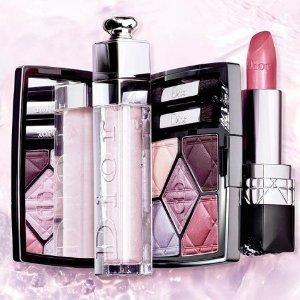 8.5折+免邮Dior 迪奥美妆产品热卖 收限量新品、变色唇膏