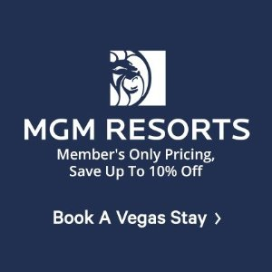 Save Up to 10% OffMGM Resors Member's Only Pricing