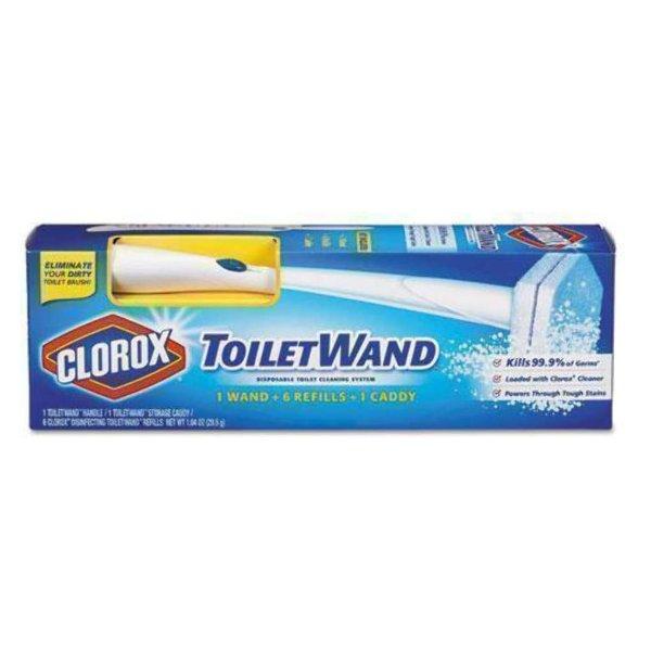 ToiletWand 可替换式马桶刷 带6个补充装