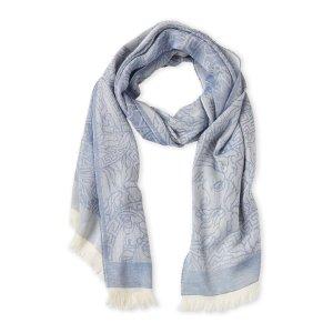 Versace美杜莎头像围巾(浅蓝)