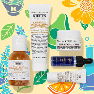 Last Day: 2 deluxe sampleswith any best seller purchase @ Kiehl's