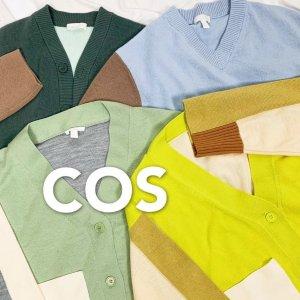 3折起+全场9折! £53收超火白衬衫COS 人气TOP10销量汇总 这些单品你必须拥有