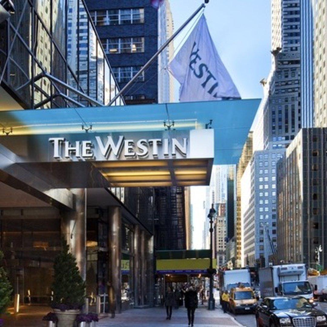 纽约4星威斯汀酒店 位于中央车站附近