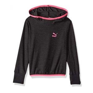 $6.63起PUMA 女童运动风格帽衫、男童三件套