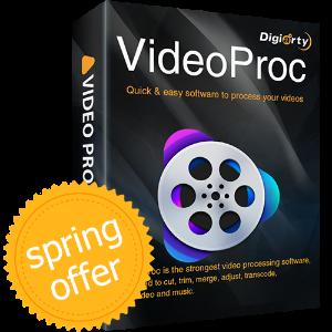 $78.90 valuedEarly Spring Giveaway, Free Get VideoProc V3.5 Full License