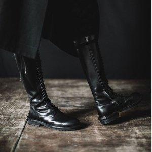 低至3折最后一天:Ann Demeulemeester 设计感美靴热卖 收虞书欣、Angelababy 同款