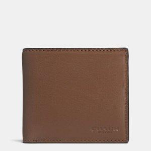 Coach2件享额外8折钱包