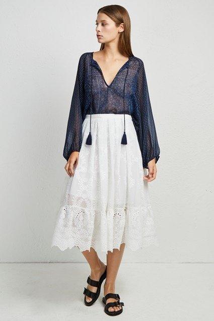蕾丝半身裙