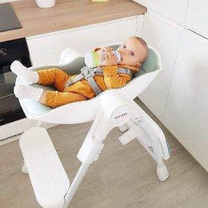 8折 即将截止独家:Oribel 高颜值餐椅、墙贴玩具、活动中心中秋特惠
