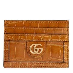 $1359.98Gucci Ophidia Genuine Crocodile Card Case