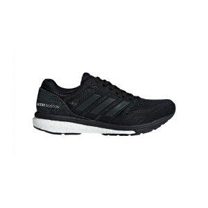 Women's Adidas Adizero Boston 7 Running Shoe - Color: Core Black/Feather White (Regular Width) - Size: 9.5