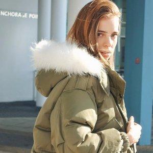 5折起+全场8折网络星期一:MissLondoner 全场大促 收秋冬款法风大衣、毛衣