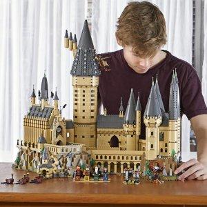低至5折 €139收大礼堂与密室哈利波特周边 乐高、手办、家居、服饰 复刻魔法世界