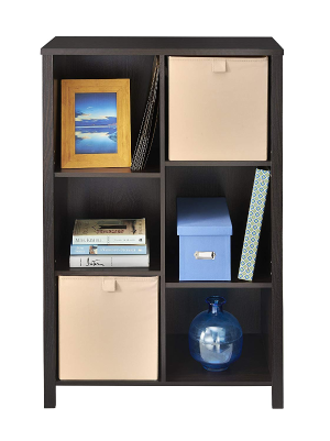 $57.67(原价$119.02)ClosetMaid 黑胡桃色可调节书柜/收纳柜特卖