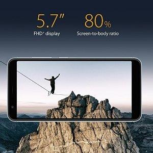 $209.99史低价:华硕ASUS ZenFone 飞马4S 全面屏双摄无锁手机  长续航拍照神器