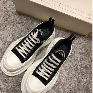 Alexander McQueenTread Slick 平底鞋