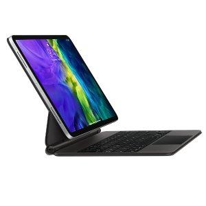 $299起 悬浮设计背光按键全新 iPad Pro 11/12.9 Magic Keyboard 键盘带触控板
