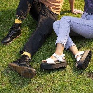 低至3折+额外9折马丁靴、Clarks、Converse 海量热门鞋款折上折