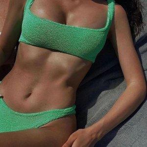全线8折 连体泳衣$120HUNZA G 最最时髦的小众泳衣 辣妹必须拥有