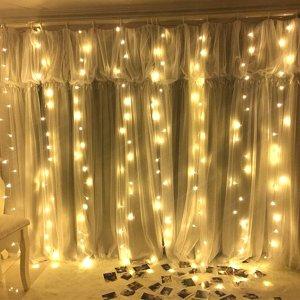 JTL QAKTA 窗帘灯300 LED灯泡 8种照明模式 可遥控