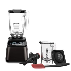 Blendtec Designer 725 Blender - WildSide+ Jar (90 oz) and Twister Jar (37 oz)