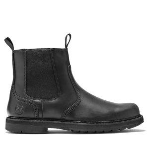 Timberland切尔西靴-黑色