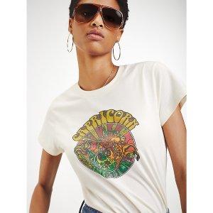 TommyZendaya Organic Cotton Zodiac T-Shirt | Tommy Hilfiger