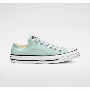 Converse纯色低帮帆布鞋 多配色可选