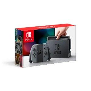 NintendoSwitch 灰色版套装 + $25礼卡