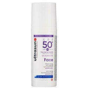Ultrasun 50+防晒霜(100ML)