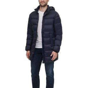 低至4折 封面款CK外套$87Macys 男士秋冬外套专场 款式多样 Tommy人气外套$61