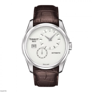 $280Dealmoon Exclusive: TISSOT Couturier Automatic Silver Dial Men's Watch