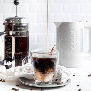 低至5折 $26收磨豆机Bodum 丹麦时尚咖啡用具热促 $14收咖啡壶 $45收鹅颈电水壶