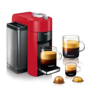 $79Nespresso Vertuo Evoluo Coffee and Espresso Machine by De'Longhi, Graphite Metal