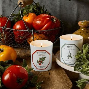 8.5折+返$30+送5件套独家:Carrière Frères 法国小众香氛世家 王牌番茄蜡烛补货
