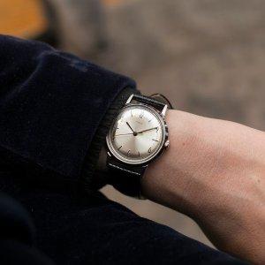 $169.99(官网$289)Timex Marlin Hand-Wound 经典复刻机械表 自动上弦
