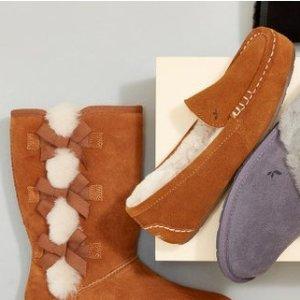 低至5折 $39收温柔毛毛拖Koolaburra by UGG 鞋靴热卖,温暖整个冬天