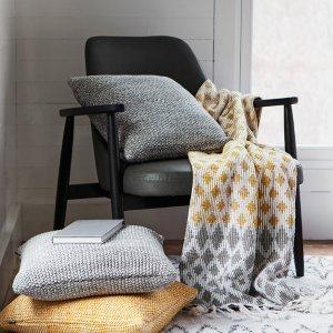 低至3折+免邮 浴帘$4白菜价:Simons 精选家居家具,毛毯床单等特卖