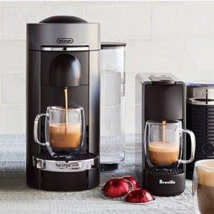 Up to 55% OffSelect Nespresso VertuoLine/VertuoPlus on Sale