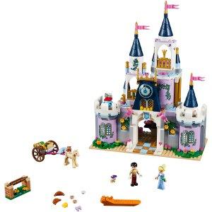 €67.85 收亲爱的热爱的韩商言同款Lego 迪士尼系列 灰姑娘的梦幻城堡