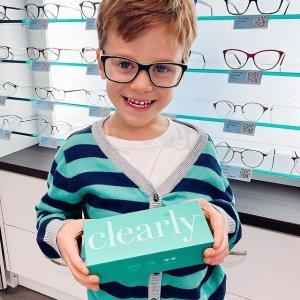 镜框只需要$9+镜片6折Clearly 白菜价眼镜 儿童配镜无费用 无需处方 保险可报销